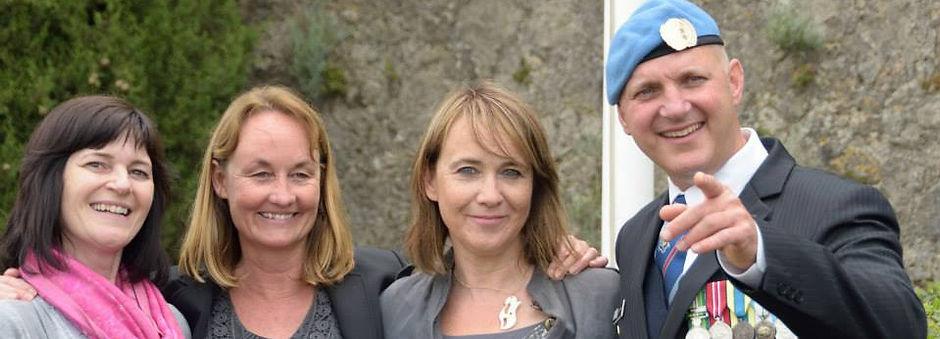 Felicity Vaughan, Linda Rhoades, Shelley Ward, Steve Wright