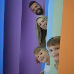 Mês das crianças com ingressos pela metade no Fun Museu aos sábados