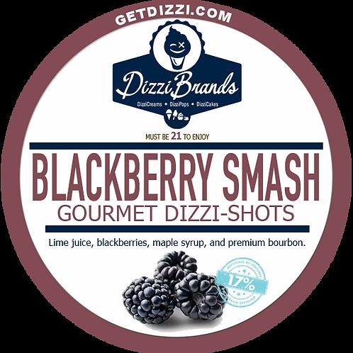 Blackberry Smash Gelatin Shot