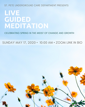 IG Stories Meditation and Leaders Meetin