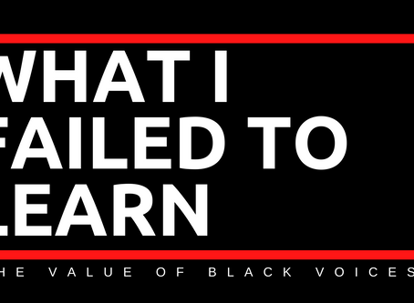 What I failed to learn about the value of Black Voices in our movement | by Jennifer Garrett