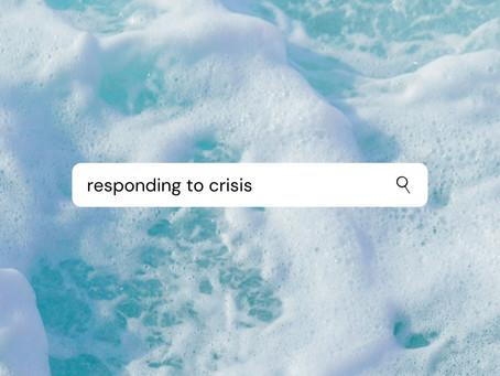 For a hard season: 8 Ways to Respond to Crisis
