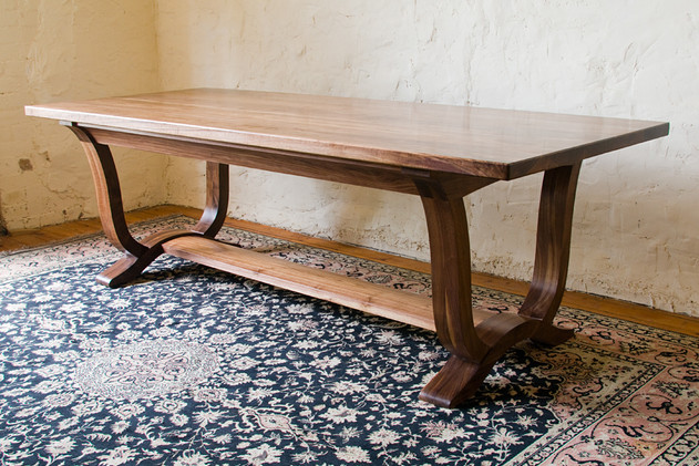 Solid Walnut Refectory Table