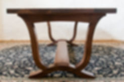 Walnut refectory hardwood dining kitchen table