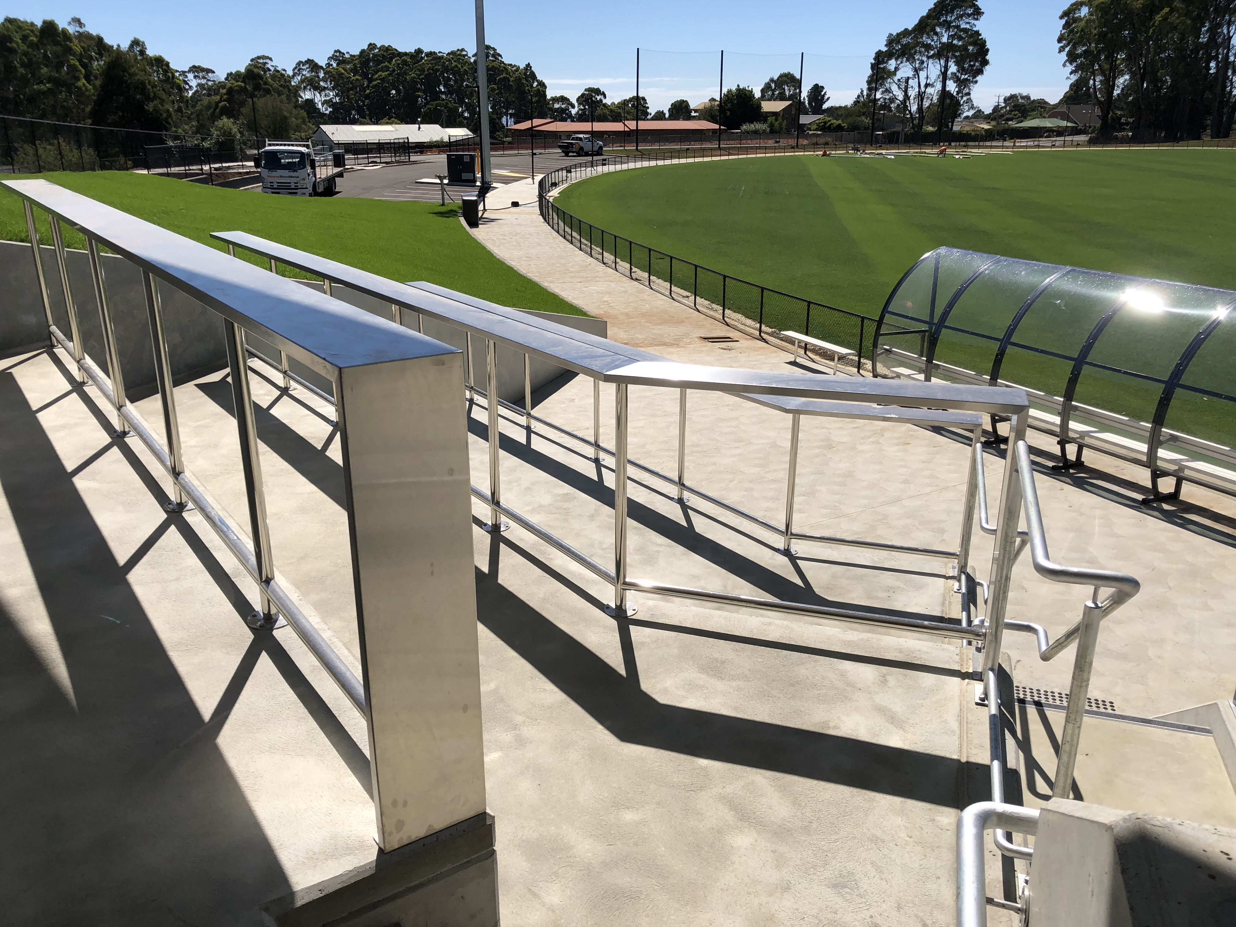 Dial Range Sport Complex - Handrails