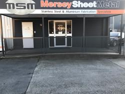 Mersey Sheet Metal Enterance