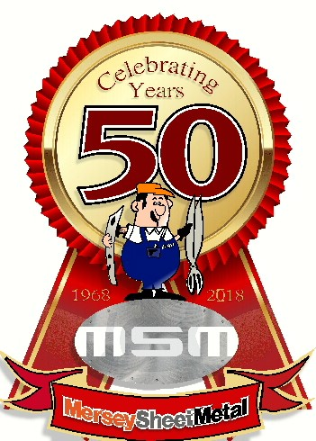 Mersey Sheetmetal Works 50 years