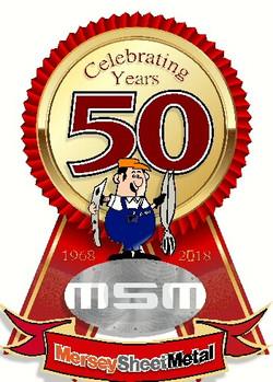Mersey Sheetmetal Works 50 years