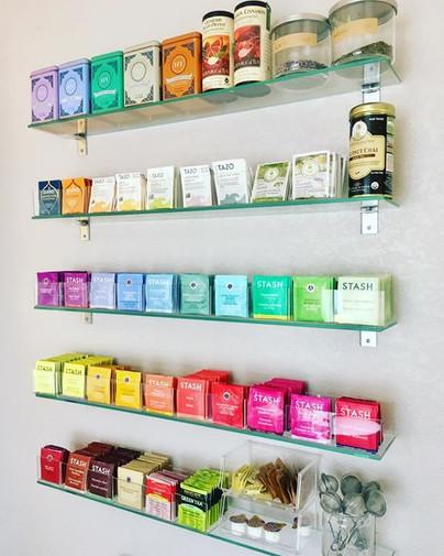 The Tea Wall