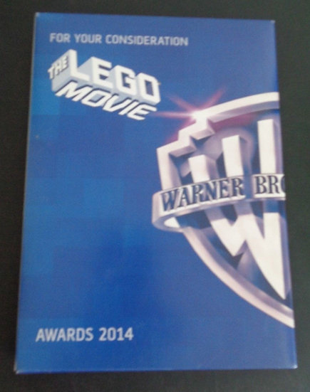 FYC THE LEGO MOVIE For Your Consideration FYC DVD Screener PROMO Replacement CAS
