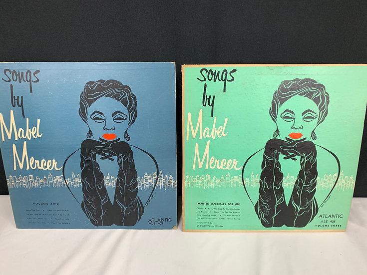 Songs By Mabel Mercer - Volumes 2 & 3