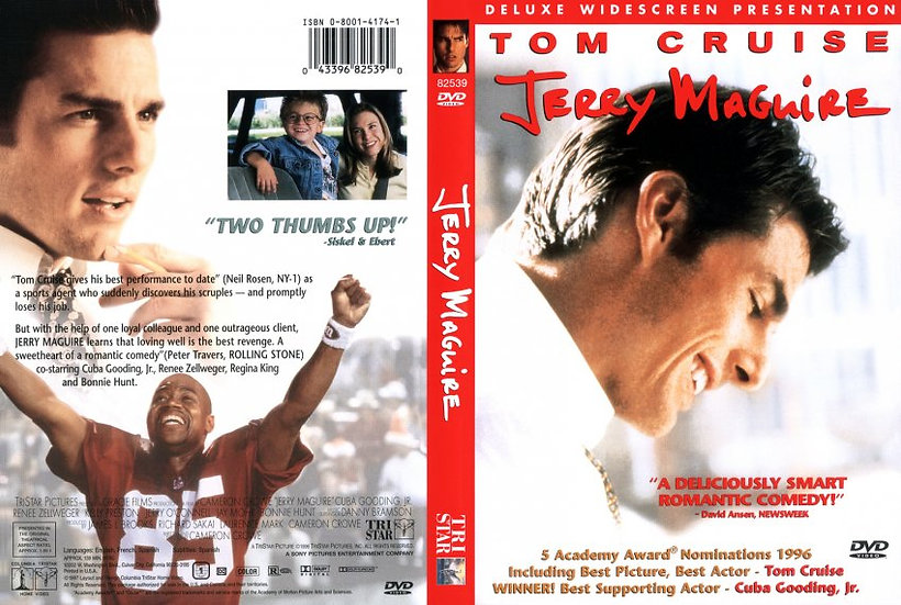 Jerry Maguire (DVD, 1997) Deluxe Widescreen Presentation