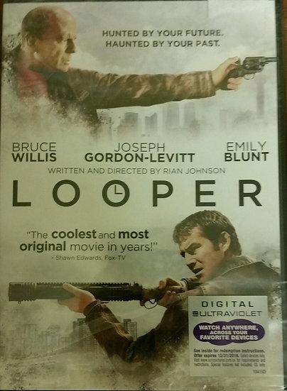 Looper (DVD, 2012) Bruce Willis   Joseph Gordon-Levitt   Emily Blunt