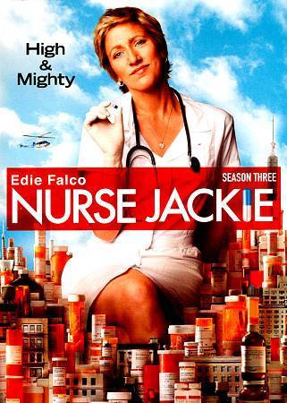 NURSE JACKIE THIRD SEASON THREE High and Mighty (DVD 2011)