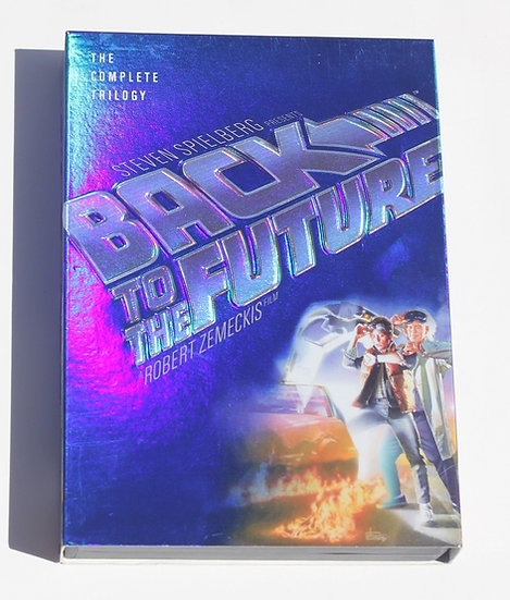 USED-Back to the Future: The Complete Trilogy (DVD, 2002, 3-Disc Set, Widescreen