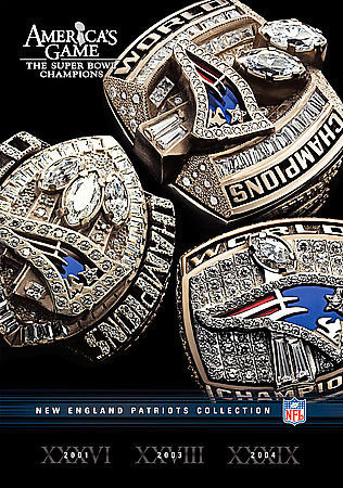 NFL: America's Game: New England Patriots Collection (3 DVD Set) Super B