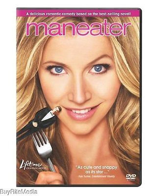 Maneater-Lifetime Origional Movie (DVD, 2010) Lifetime, Sarah Chalke, Judy Greer