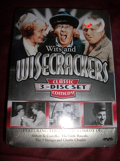 Wits and Wisecrackers Classic Comedy 3 Disc Set (200)7 Abbott & Costello/The Lit