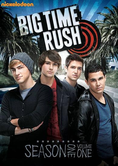 Big Time Rush: Season One, Vol. 1 (DVD, 2011, 2-Disc Set Region 1)