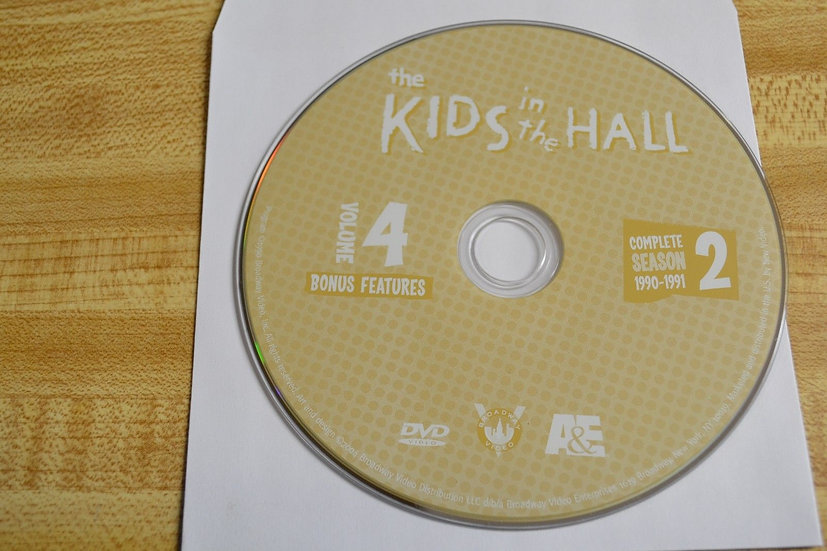 USED-The Kids In The Hall Second Season 2 Disc 4  Bonus Features 1990-1991 Repla