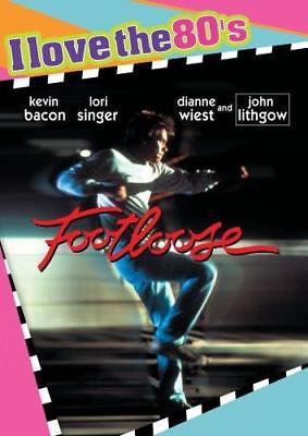 Footloose - I Love the 80's (DVD, 2008 Region 1) Kevin Bacon, Lori Singer, Diann