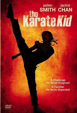 The Karate Kid DVD Jaden Smith and Jackie Chan
