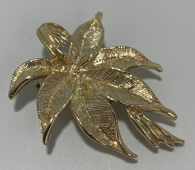 Vintage Gerry's leaves Brooch/Pin