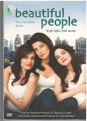BEAUTIFUL PEOPLE COMPLETE SERIES (DVD, 2006, 4-Disc Set)