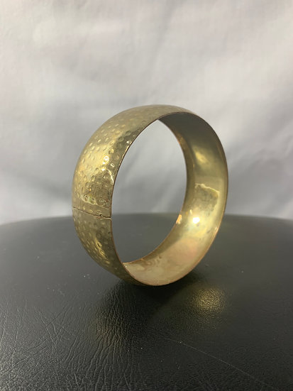 Metal Brass Bangle Vintage