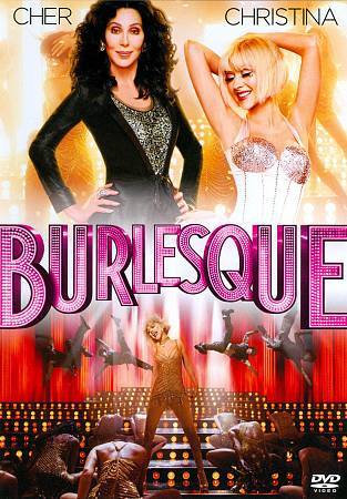 Burlesque (DVD 2011) Christina Aguilera,Cher, Julianne Hough