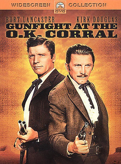GUNFIGHT AT THE O.K. CORRAL (DVD 2003-Region 1) 1957 RARE Kirk Doug