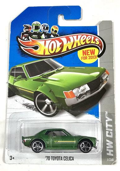 Hot Wheels 2013 - 70' Toyota Celica #1/250