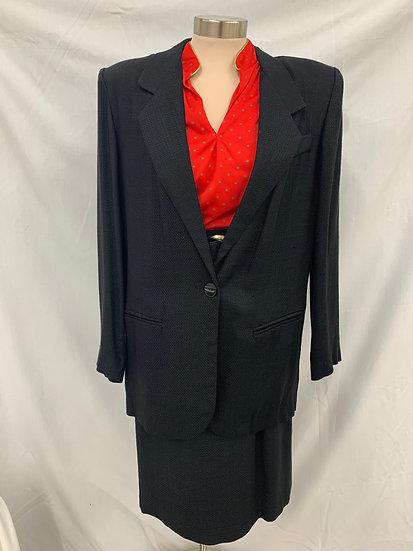 Worthington 2 Piece Vintage Skirt Suit Sz 8