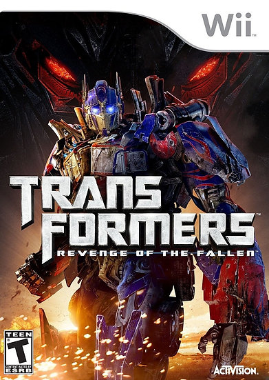 Transformers: Revenge of the Fallen - Nintendo Wii Game 2009