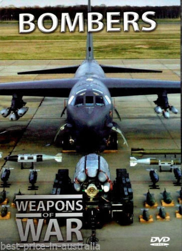 USED-WEAPONS OF WAR - Bombers DVD + BOOK