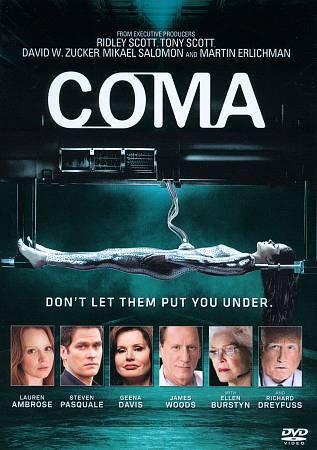 Coma (DVD 2012) Lauren Ambrose, Steven Pasquale, Gena Davis James Woods