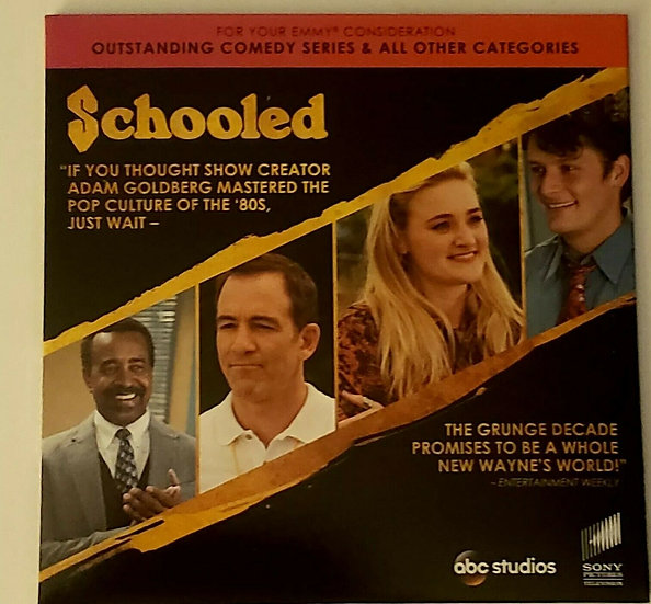 FYC 2019 Schooled + Goldbergs Emmy DVD Screener /Comedy Promo Sony 2 Ep
