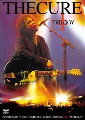The Cure Trilogy-Pornography-Disintegration-Bloodflowers LIVE!  (DVD 2 disc)