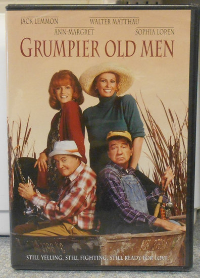 Grumpier Old Men (DVD 1995) Walter Matthau, Jack Lemmon, Ann-Margret