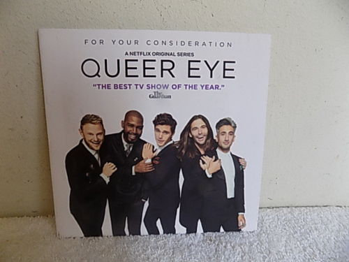 FYC 2018 Queer Eye  For Your Consideration (DVD 2-disc)