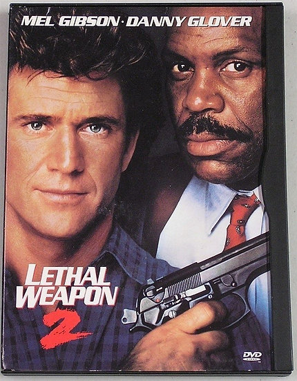 Lethal Weapon 2 (DVD, 1997, Standard and Widescreen) 1989 in snap case