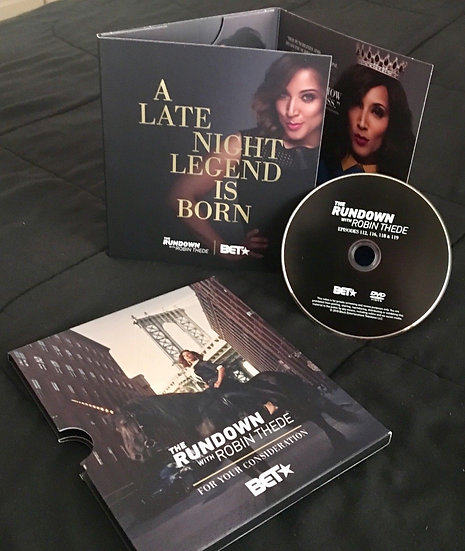 2 FYC 2018-ROBIN THEDE-THE RUNDOWN WITH ROBIN THEDE-A Late Night Legend is Born