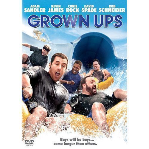 Grown Ups (DVD, 2010, Widescreen) Adam Sandler, Chris Rock