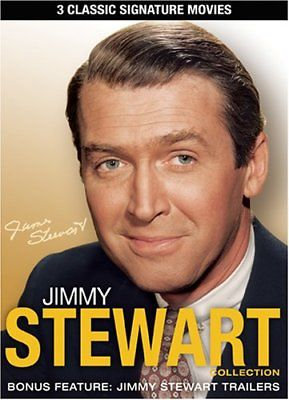 Jimmy Stewart Collection -3 Classic Signature Movies (DVD 2008)  Bonus Feature: