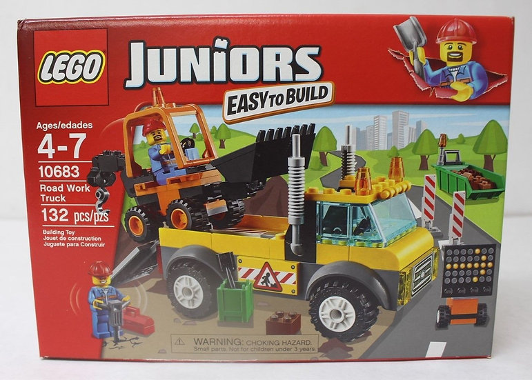 NIB LEGO Juniors Road Work Truck 132pcs 10683
