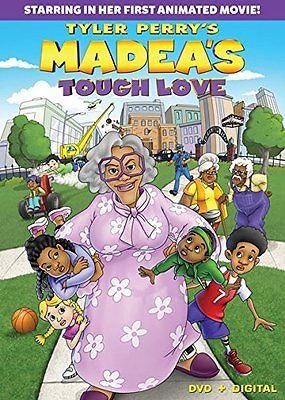 Tyler Perry's [Animated] Madea's Tough Love (DVD, 2015) Widescreen