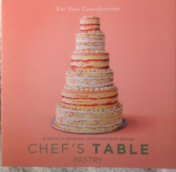 FYC 2018 Chef's Table (Pastry)-Netflix-DVD
