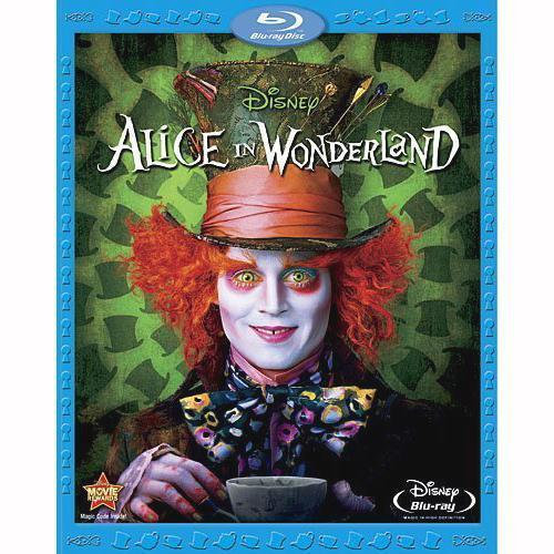 USED-Alice in Wonderland (Blu-ray Disc, 2010)