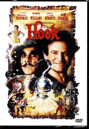 Hook (DVD, 2000) Robin Williams, Julia Roberts