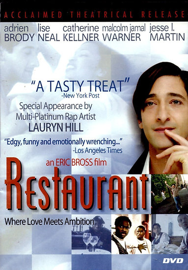 USED- Restaurant (DVD, 2000) Andrien Brody-DIGVIEW ENTERTAINMENT  IN SLI